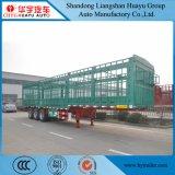 3 Entrepôt de 50 t de l'essieu de transport des animaux semi-remorque de la Chine usine