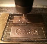Центр CNC подвергая механической обработке для гравировки металла