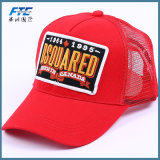 Напечатанный таможней шлем бейсбола крышки сетки водителя грузовика полиэфира для промотирования