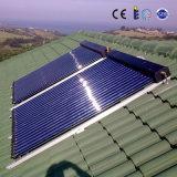 Calefator de água solar pressurizado da tubulação de calor do mercado Split mundial