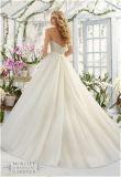 2016カスタマイズされる新しい熱販売のブラの花嫁のAラインのウェディングドレス