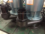 De elektrische Pompen Met duikvermogen van het Water, Afzet 1.5HP 3inch (de drijvende kracht van het Aluminium)