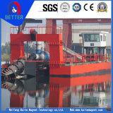 Ce одобрил земснаряд всасывания резца глубины 17m драгируя для реки/водоочистки/морской индустрии