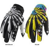 Nuovi guanti di corsa respirabili neri per il cavaliere di motocross (MAG23)