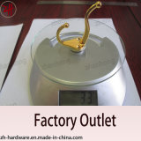 Цинкового сплава на стену и душ в ванной комнате крюк, крючок для одежды вешалки (ZH-2030)