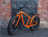 500W Fat Tire Electric Beach Cruiser Bike