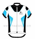 Do Sportswear superior da venda de Healong Sublimation feito sob encomenda que dá um ciclo Jersey