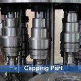 Automatische Wasser-Flaschenreinigung füllende mit einer Kappe bedeckende Maschine 3 in-1