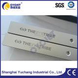 Señal metálica pequeña fábrica de marcadora láser/proveedor de equipos de codificación láser