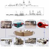 Machine chaude de presse avec le cylindre durable et plaque chaude