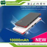Micro Dual Output Bulid en el cable 4000mAh / cargador del teléfono 10000mAh