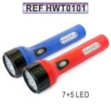 Nachladbare LED-Taschenlampen-Fackel für das Suchen und das Kampieren (HWT0101)