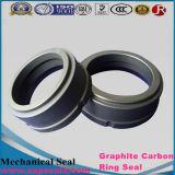 Junta de grafito anillo G13 grafito de carbono para el sello de la bomba de agua