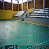 Het waterdichte Vloeren van de Sporten van pvc van de Sporten van pvc Vloer Aangepaste
