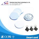 Custom Anti-Metal Hf Ntag 13.56MHz213 etiqueta RFID passiva com cola de 3m
