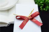 Handwork ruban de satin l'arc avec fil pour les bonbons