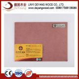Plain ignífugo MDF MDF Precio Diseño de panel de pared de placa de MDF de 10mm