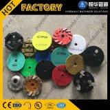 Amoladora del suelo y máquina de la chorreadora para la piedra de pulido y concreto en buen precio