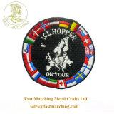 工場価格の安い良質の国際連合の昇華によって刺繍されるパッチ