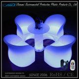 Mobiliário LED de plástico com preço de fábrica barato