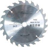 180mm*24t con punta de carburo de tungsteno (TCT) Hoja de sierra circular