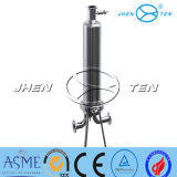 Ss304 Ss316 sondern gesundheitliches Wasser-flüssiges Filtergehäuse aus