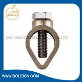 Latón de cobre mecánica abrazaderas Tierra Bonds varilla de abrazaderas de cinta