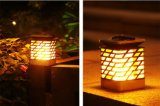 Солнечная приведенная в действие белизна светильника света свечки СИД теплая для партии