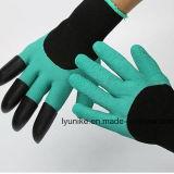 Сад защитные джина перчатки с зацепами