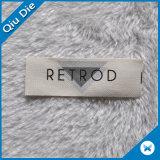 Étiquettes respectueuses de l'environnement de vêtements d'impression d'écran de coton
