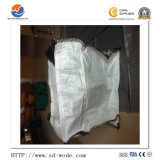 Qualität 1000 Kilogramm 1 Tonne 1.5 Tonne verwendetes pp. Plastikgrosses/Masse/flexibler riesiger Beutel des Behälter-/FIBC/mit Firmenzeichen-und Preis-Größe