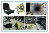 下水道の点検のための鍋の傾きの無線ビデオ・カメラ
