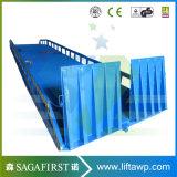 niveleur hydraulique manuel de dock de conteneur de chariot élévateur de 6ton 8ton 10ton