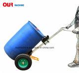 Heiße Kapazitäts-Öl-Trommel-Laufkatze des Verkaufs-450kg, mechanischer Trommel-LKW