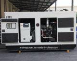 110kVA 88kw Taux d'attente UK Perkin générateur diesel silencieux du moteur