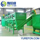 machine de recyclage des déchets Post-Consumption film PE avec l'acier inoxydable