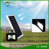 高い明るさ10Wの太陽洪水ライト動きセンサーの屋外の太陽庭ライト