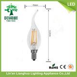 C35 E14 2W de filamentos de bombillas LED Velas