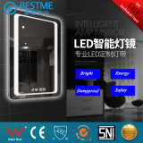 Hotel Casa de Banho Wall-Hung Espelho LED HD de 5mm BG-006