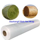 100%の新しいHDPEの耐久の草のベールネットの覆い