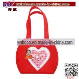 De Gevoelde Gift van de Bevordering van de Doos van de Gift van de nieuwigheid Zak voor Valentine′ S Dag (B1214)