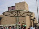 Мембрана ETFE открытый зонтик для солнцезащитная шторка