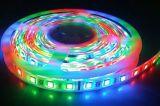 Indicatore luminoso di striscia flessibile della decorazione SMD5050 30LEDs/M 60LEDs/M LED di festa