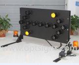 Australia Strandard LED parpadea la luz de advertencia sobre camión placas flecha
