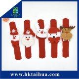 Regalo de navidad de Slap pulseras, Santa Claus, el muñeco de nieve y los renos Decoración