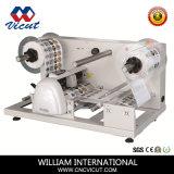 Papier d'étiquette adhésive matériel automatique de rouleau de film de machines de coupe (VCT-LCR)