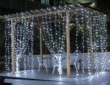 110V 220V 2*3mの800LEDs結婚式の装飾LEDのカーテンライト