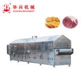 Komplizierter Kartoffelchip-Produktionszweig (Pringles bricht Cracker-Maschine) ab