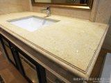Salle de bains beige d'allumeur de l'Egypte Perlato Sf/dessus de marbre de vanité
