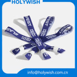Cadeaux promotionnels Embroideried Wristband Woven Logo Printing